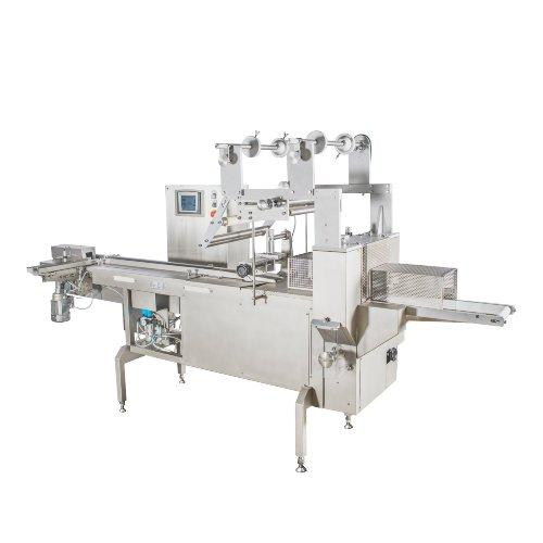horizontal flow-pack machine