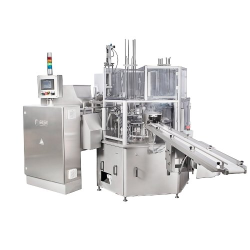 cup and tube filling machine