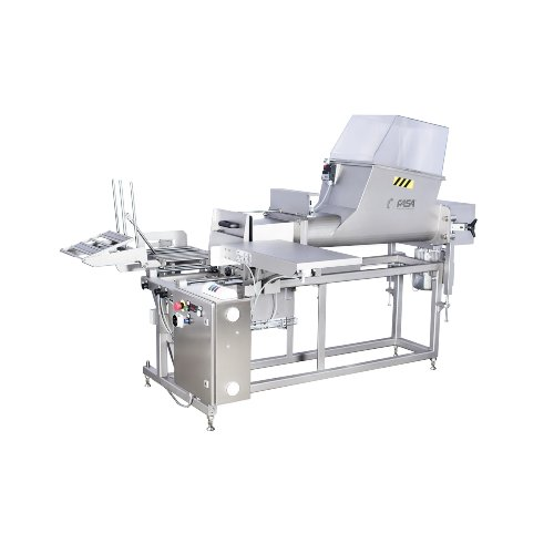 butter packing into boxes machine