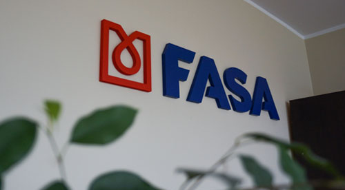 FASA logotipas